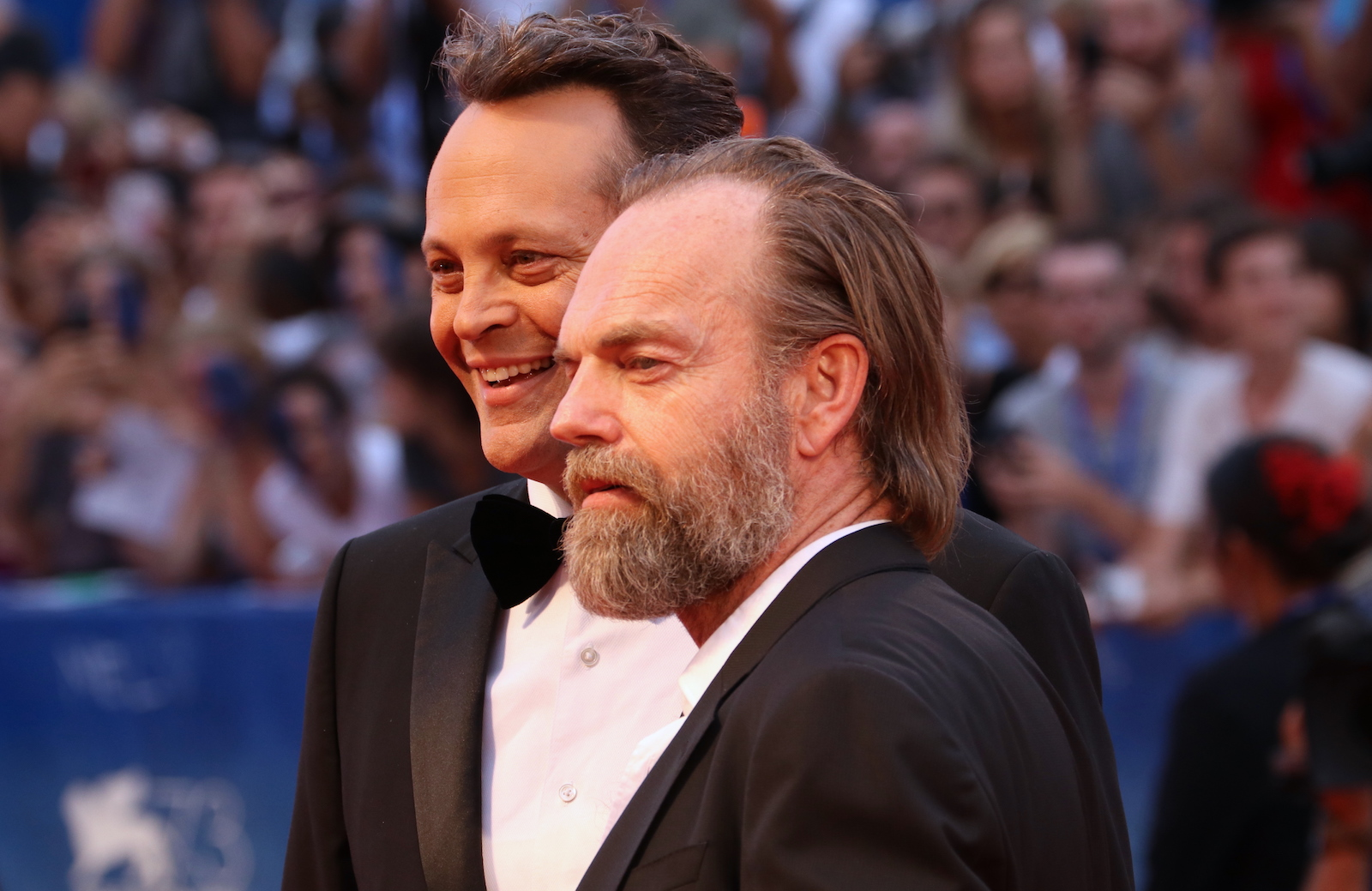 venezia 2016: Vince Vaughn e Hugo Weaving sul red carpet di Hacksaw Ridge