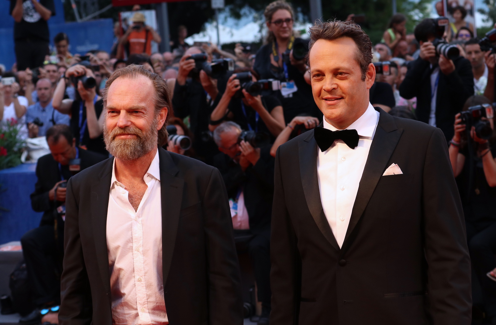 venezia 2016: Hugo Weaving, Vince Vaughn sul red carpet di Hacksaw Ridge