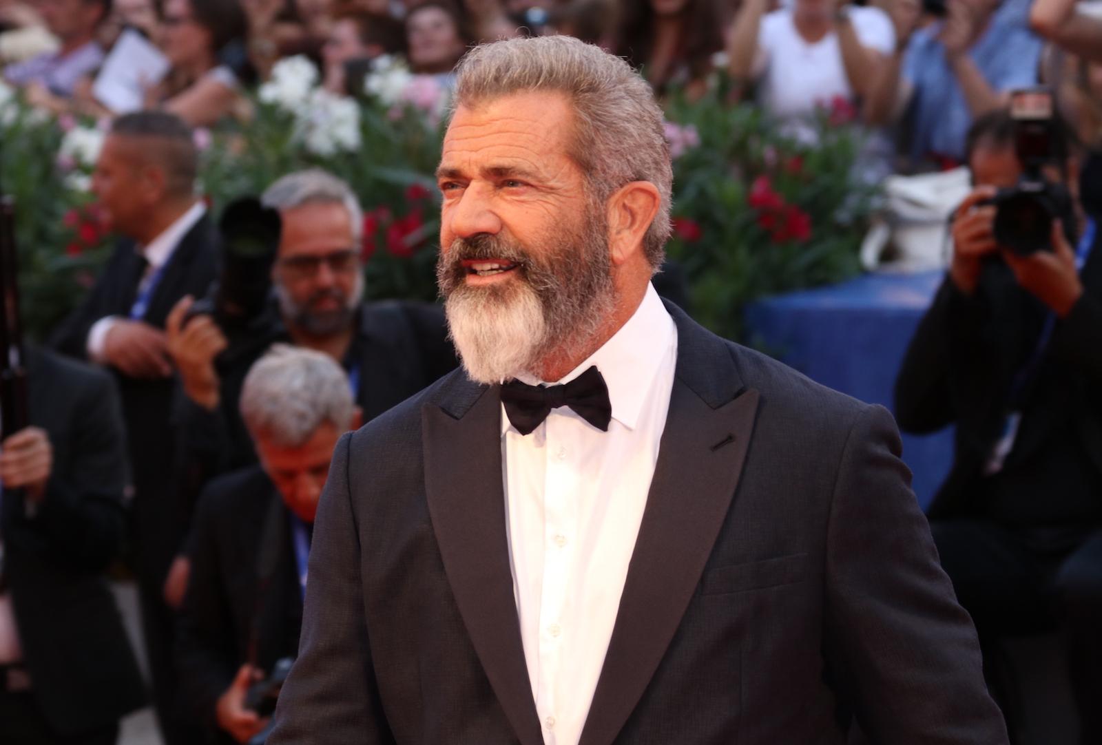venezia 2016: uno scatto di Mel Gibson sul red carpet di Hacksaw Ridge