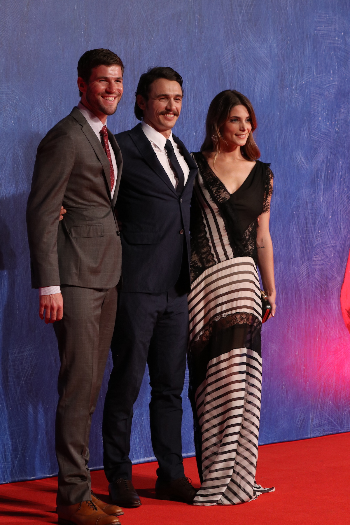 Venezia 2016: Ashley Greene, James Franco e Austin Stowell sul tappeto rosso di In Dubious Battle