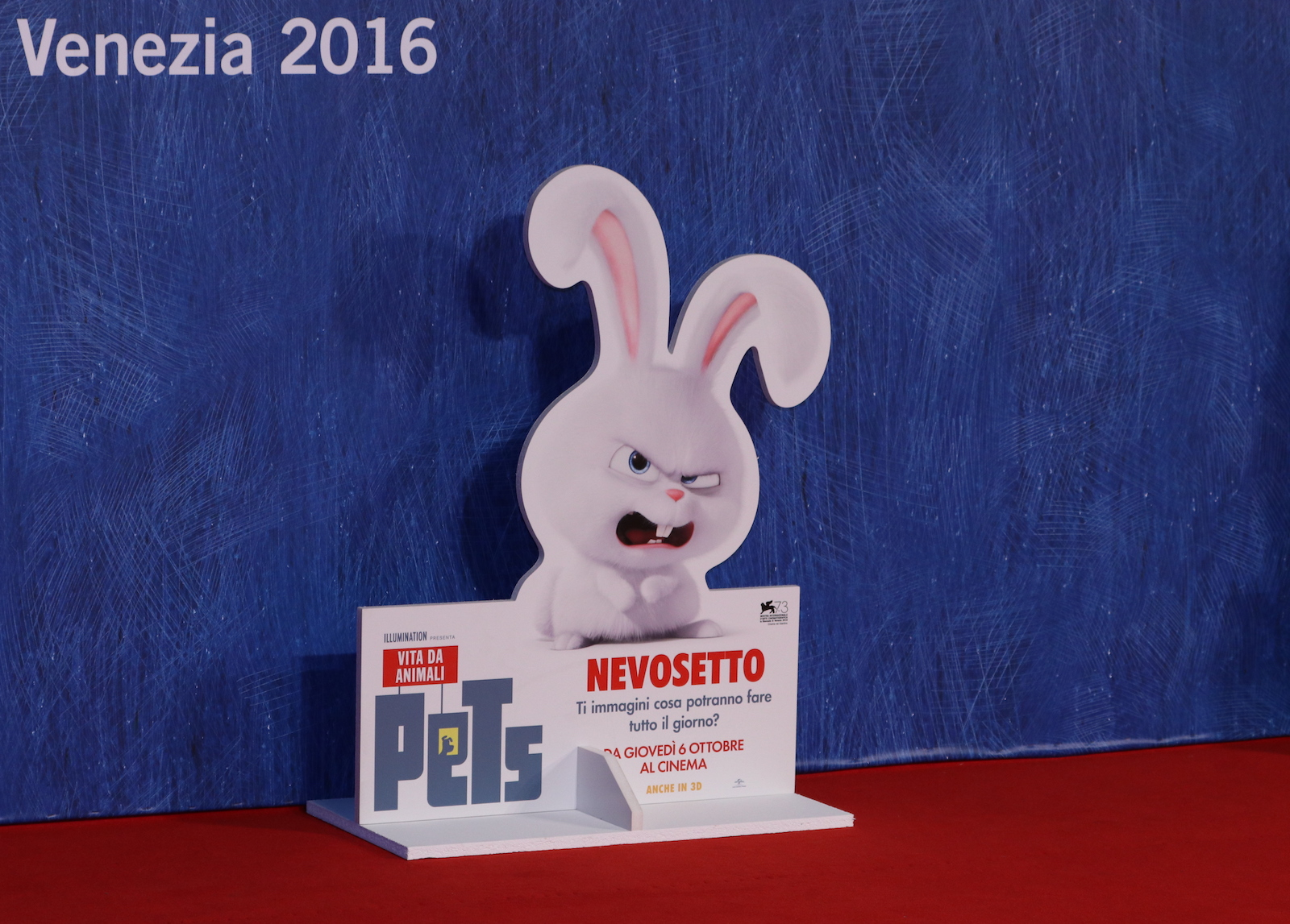 Venezia 2016: Nevosetto sul red carpet di Pets