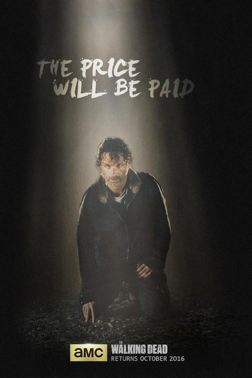 The Walking Dead: un nuovo manifesto per la settima stagione
