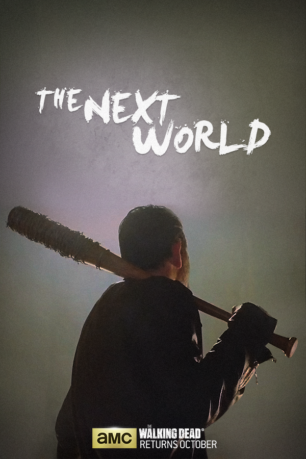 The Walking Dead: Jeffrey Dean Morgan in un poster per la settima stagione