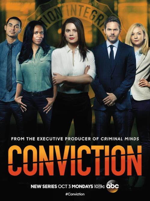 Conviction: il poster della serie