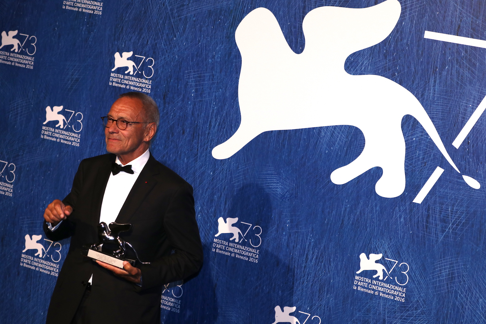 Venezia 2016: Andrei Konchalovsky al photocall dei premiati