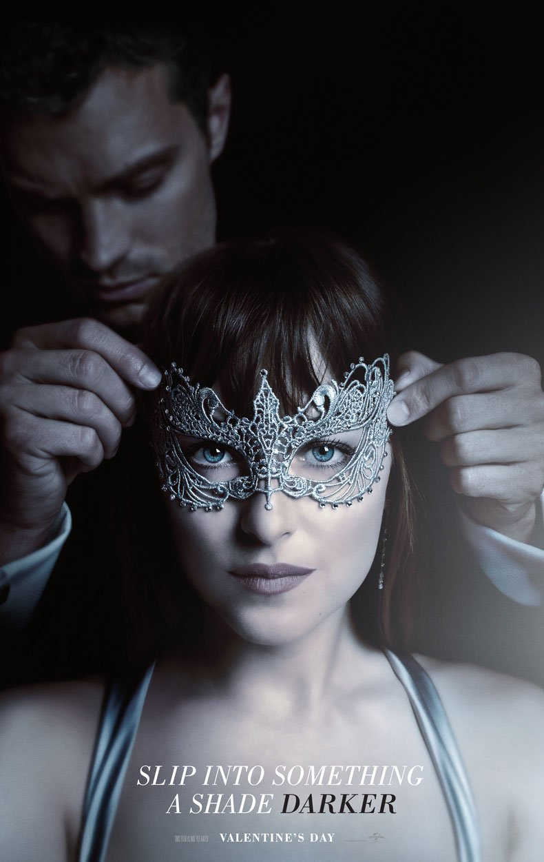 Fifty Shades Darker: il poster del film