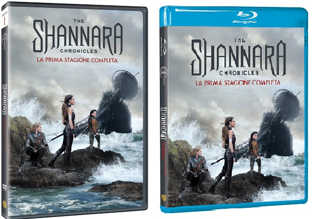 Le cover homevideo di The Shannara Chronicles