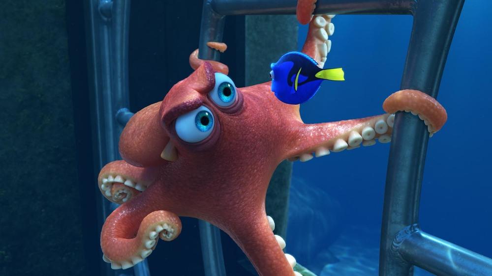 Alla ricerca di Dory: una scena del film di animazione