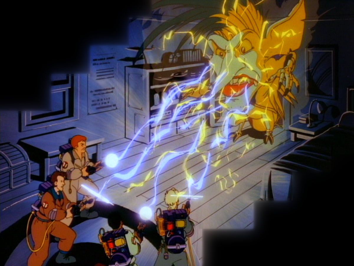 The Real Ghostbusters: un momento della serie animata