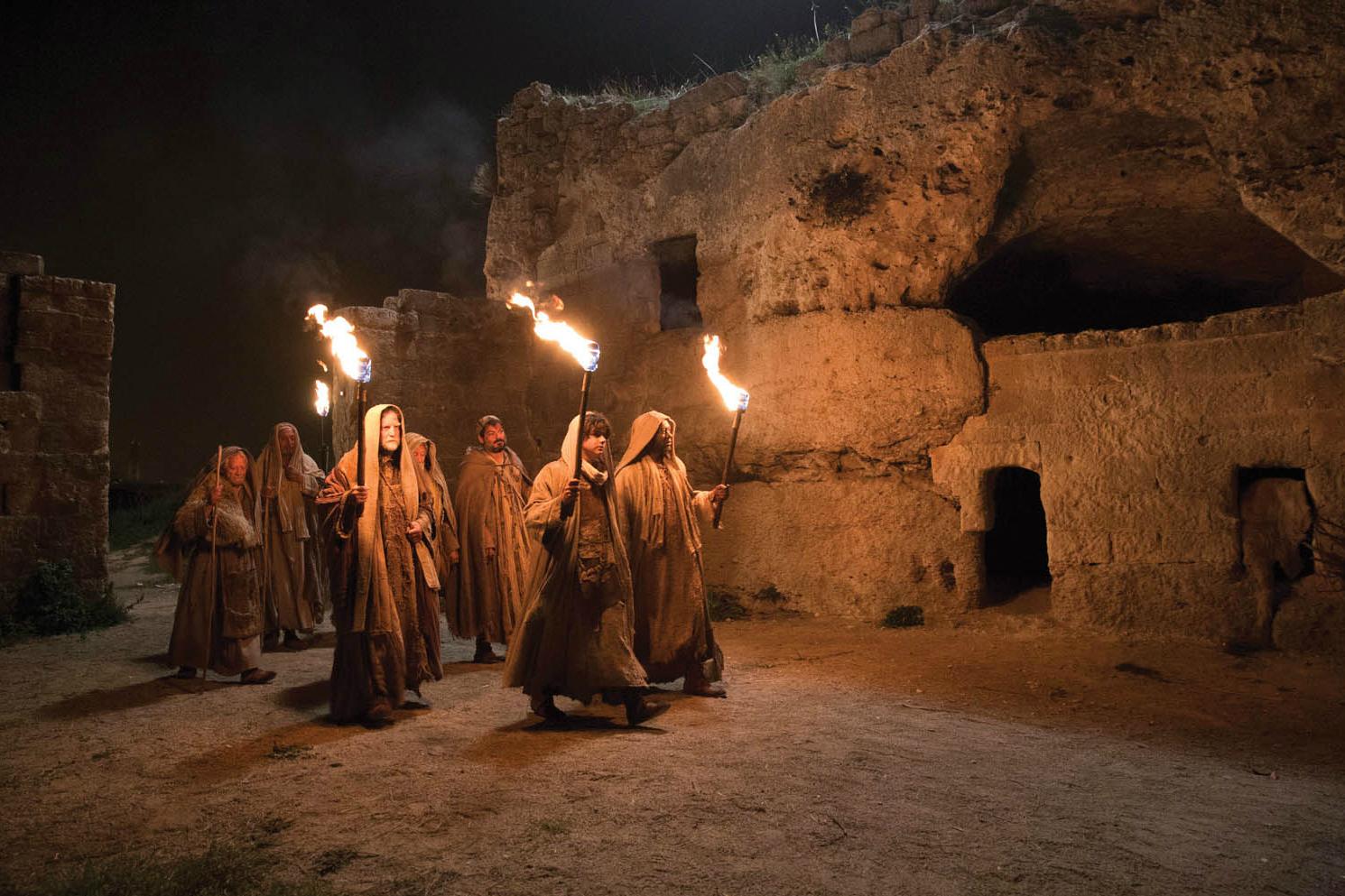 Jesus VR - The Story of Christ: una scena notturna del film