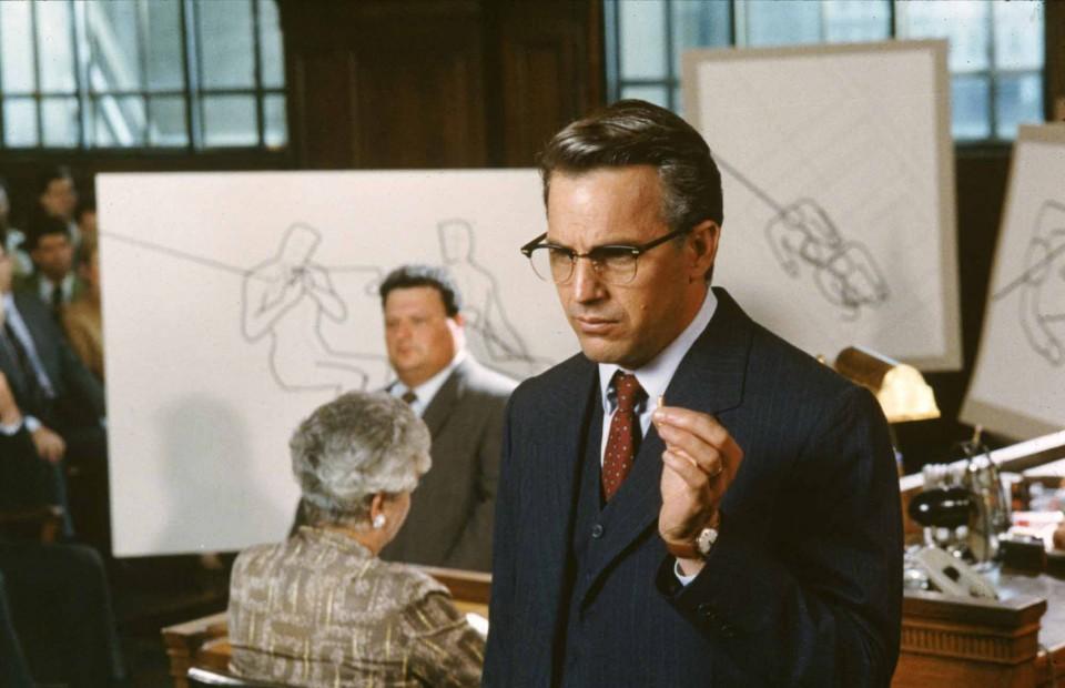 JFK - Un caso ancora aperto: Kevin Costner in una scena del film