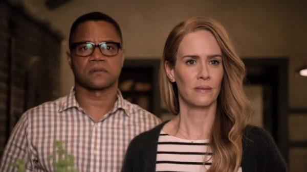 American Horror Story: Cuba Gooding Jr. e Sarah Paulson in una foto del primo episodio