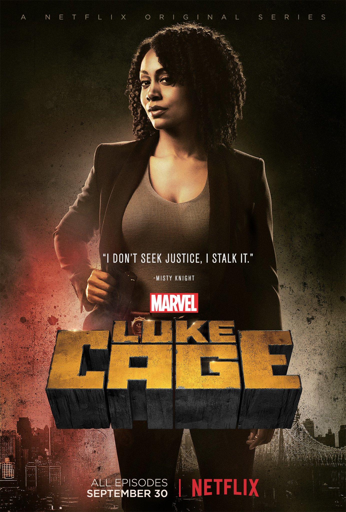 Luke Cage: il poster di Misty Knight