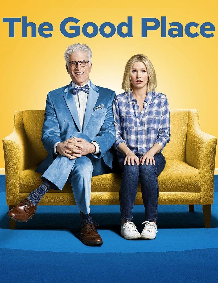 The Good Place: la locandina della serie