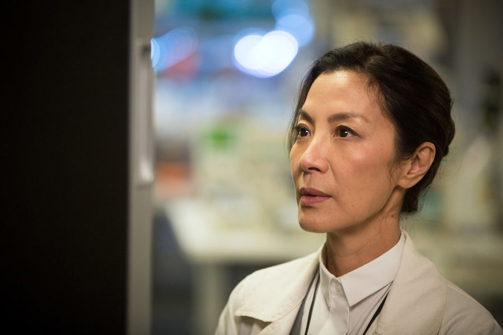Morgan: Michelle Yeoh in una scena del film