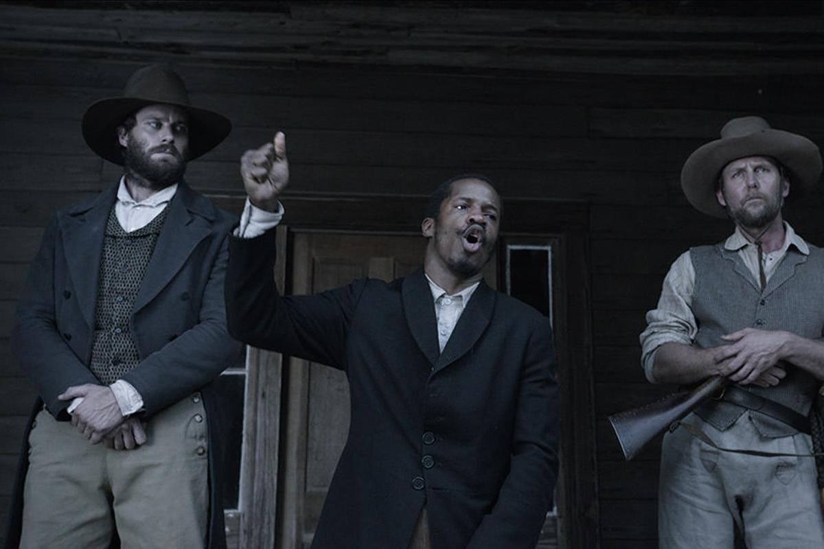 The Birth of a Nation: Nate Parker in una scena del film