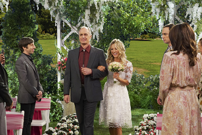 The Big Bang Theory: Keith Carradine e Kaley Cuoco in The Conjugal Conjecture