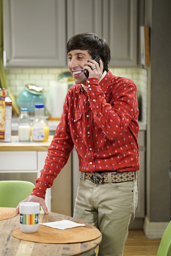 The Big Bang Theory: l'attore Simon Helberg in The Conjugal Conjecture