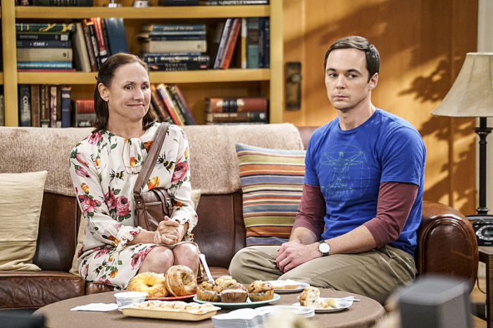 The Big Bang Theory: Laurie Metcalf e Jim Parsons in The Conjugal Conjecture