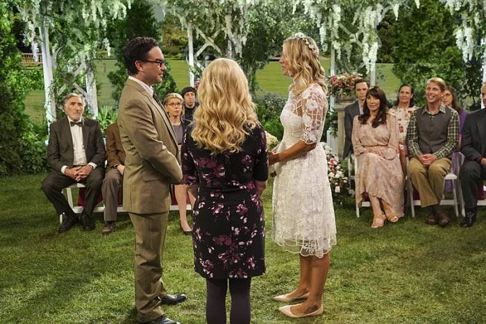 The Big Bang Theory: un momento delle nozze