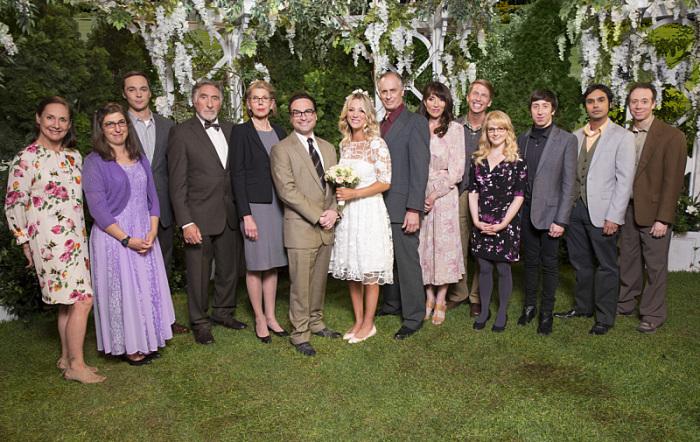 The Big Bang Theory: una delle foto ricordo del matrimonio