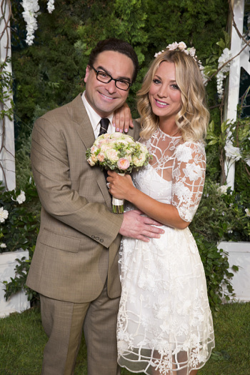 The Big Bang Theory: Johnny Galecki e Kaley Cuoco sposi in The Conjugal Conjecture