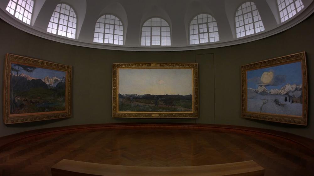 Giovanni Segantini - Magia della luce: un'immagine del documentario