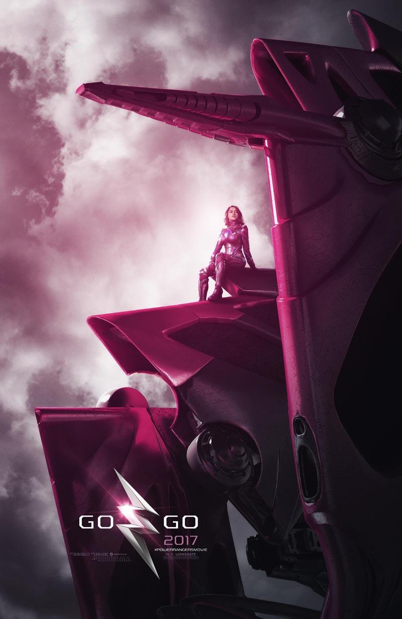 Power Rangers: la locandina di Pink Ranger
