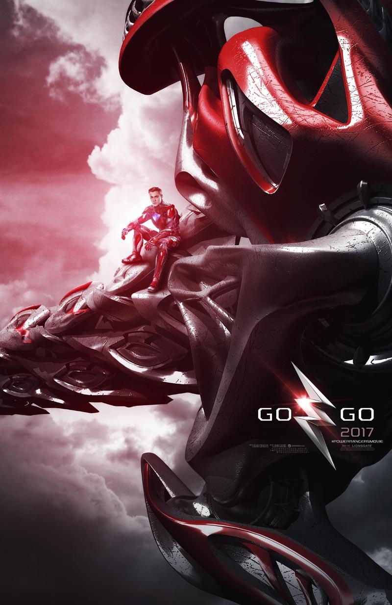 Power Rangers: il poster dedicato a Red Ranger