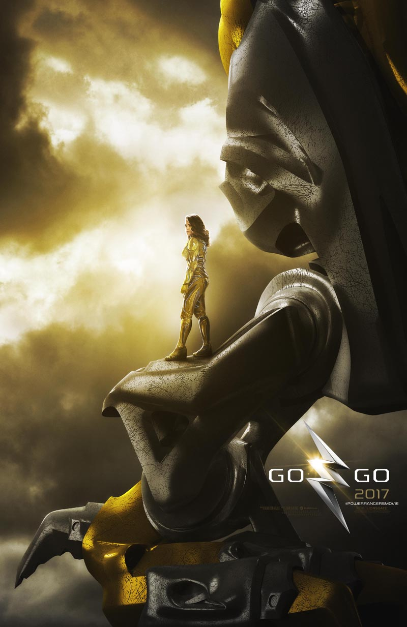 Power Rangers: uno dei poster ufficiali dei film