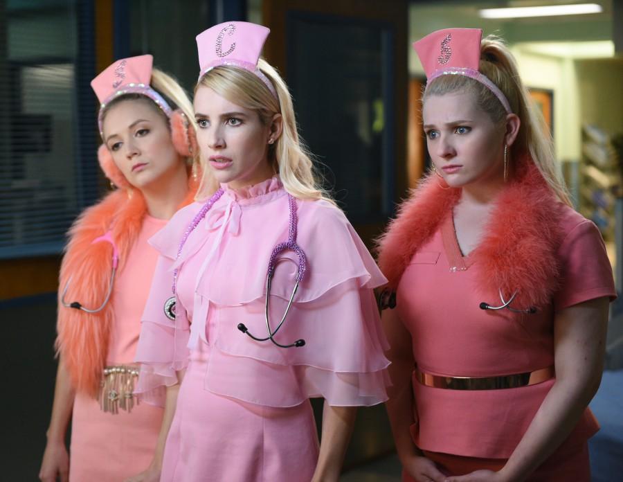 Scream Queens: Billie Lourd, Emma Roberts e Abigail Breslin in Scream Again