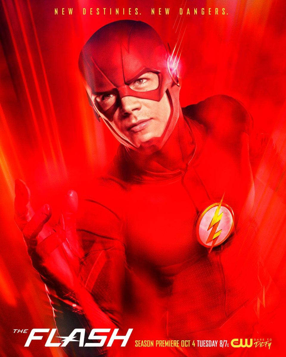 The Flash: la locandina della stagione 3