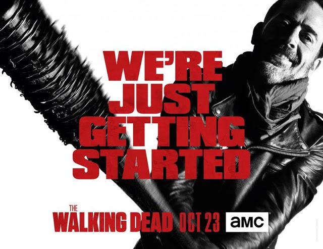 The Walking Dead: un'immagine promozionale di Negan