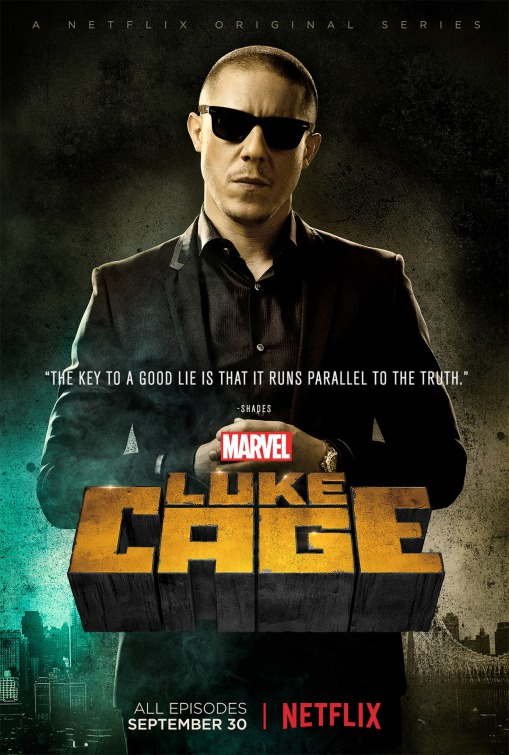 Luke Cage: Theo Rossi in un poster