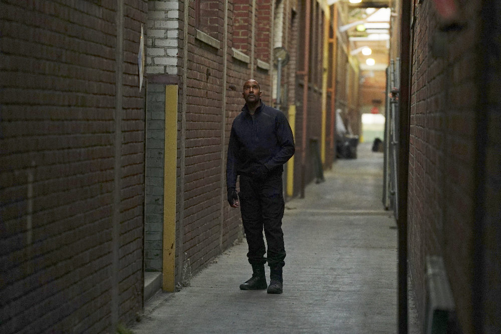 Agents of S.H.I.E.L.D.: Henry Simmons in una foto di The Ghost
