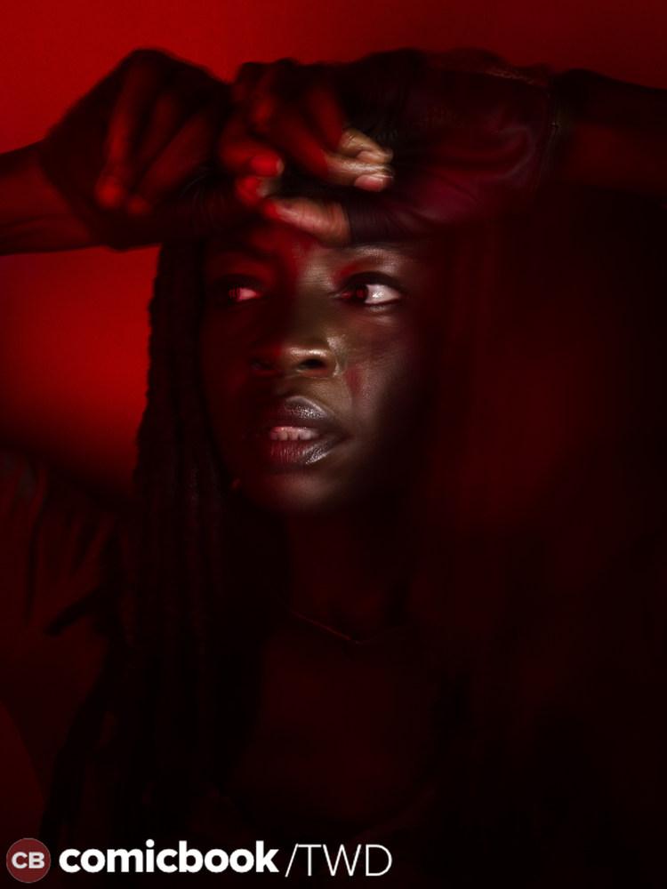 The Walking Dead: una foto promozionale di Danai Gurira