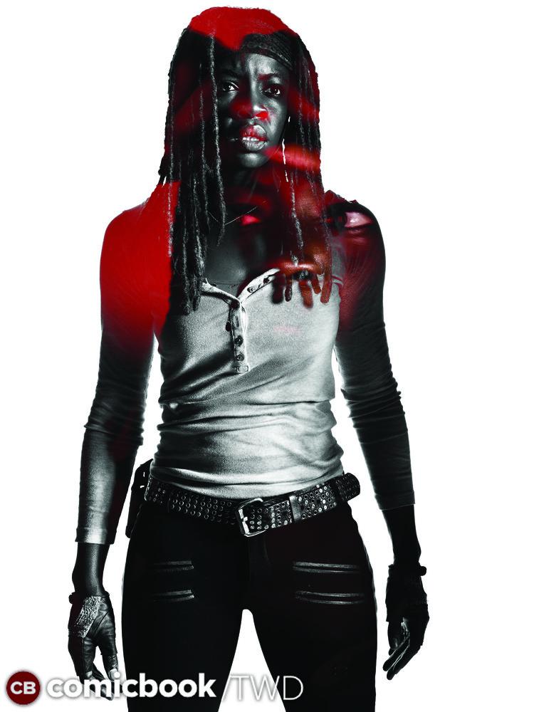 The Walking Dead: un ritratto di Michonne