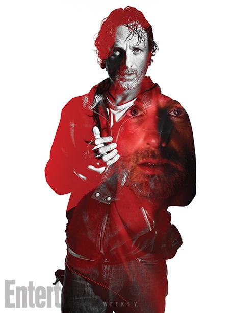 The Walking Dead: un'immagine promozionale di Rick