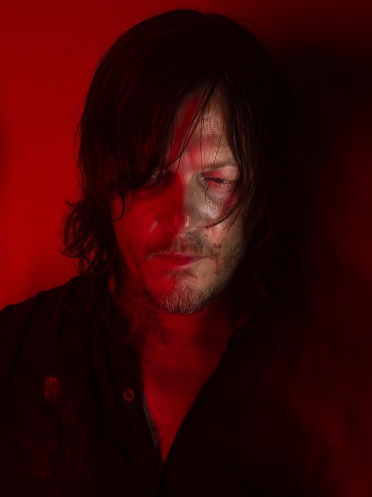 The Walking Dead: Norman Reedus in una foto promozionale