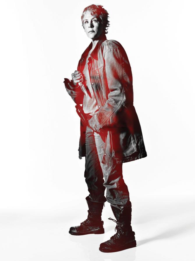 The Walking Dead: un ritratto promozionale di Carol