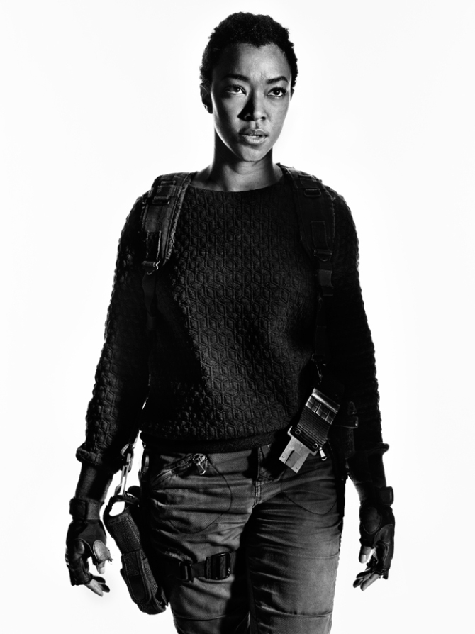 The Walking Dead: Sonequa Martin in un ritratto promozionale
