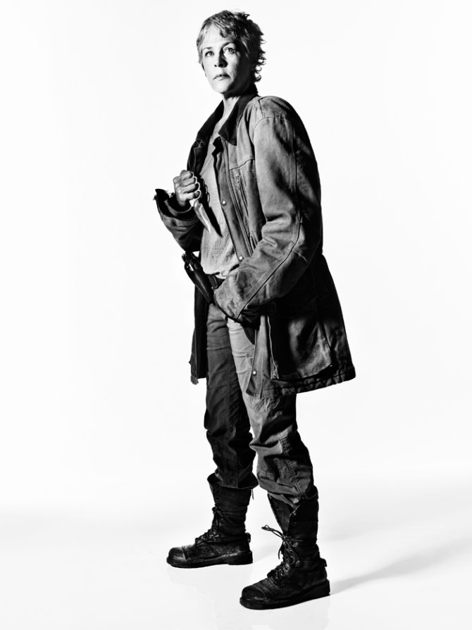 The Walking Dead: una foto promozionale di Carol