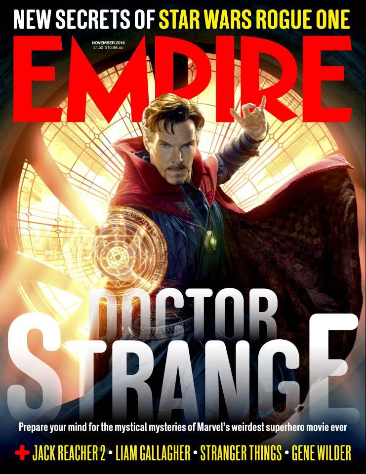 Doctor Strange: il film sulla copertina di Empire