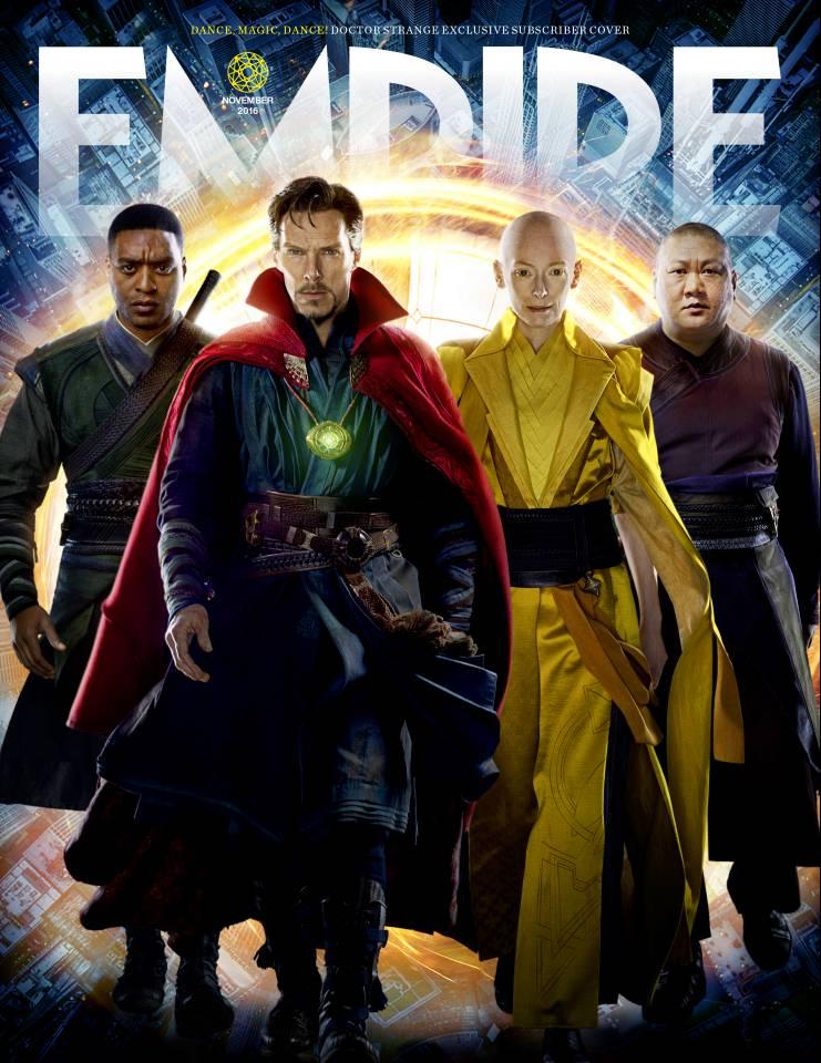 Doctor Strange: una delle copertine di Empire