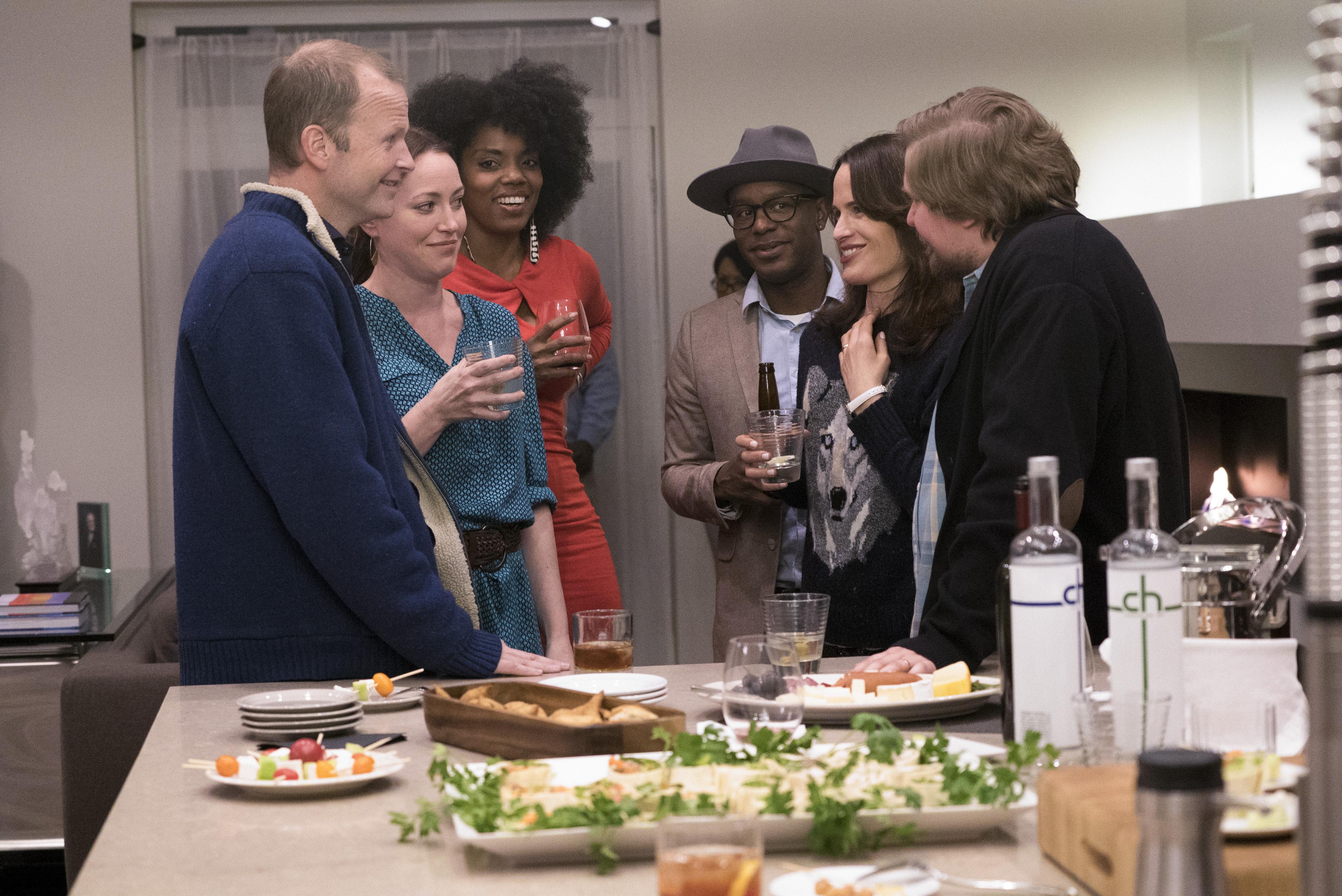 Easy: una foto dei protagonisti della serie