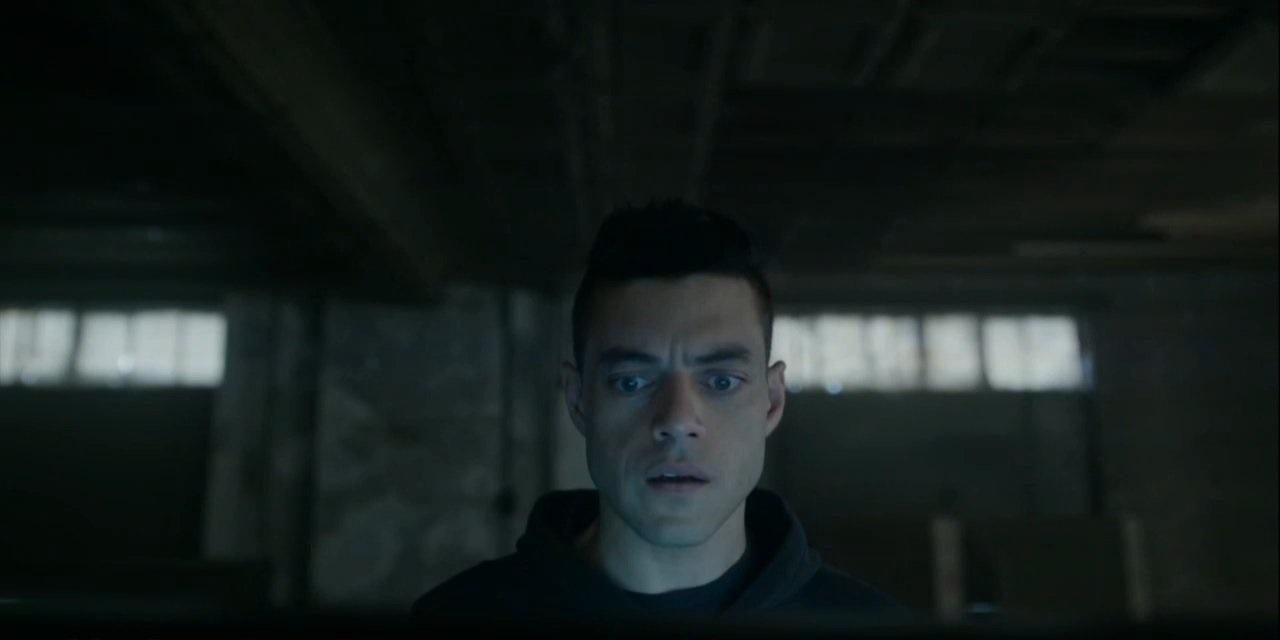 Mr. Robot: un'immagine di Rami Malek nel season finale