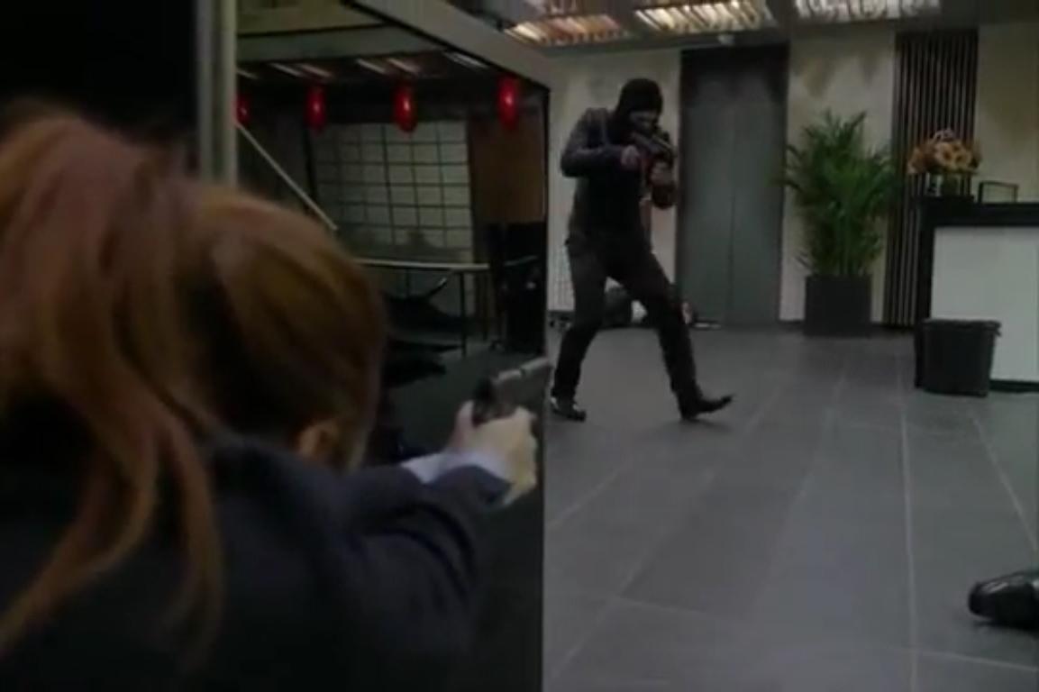 Mr. Robot: una scena d'azione della seconda stagione