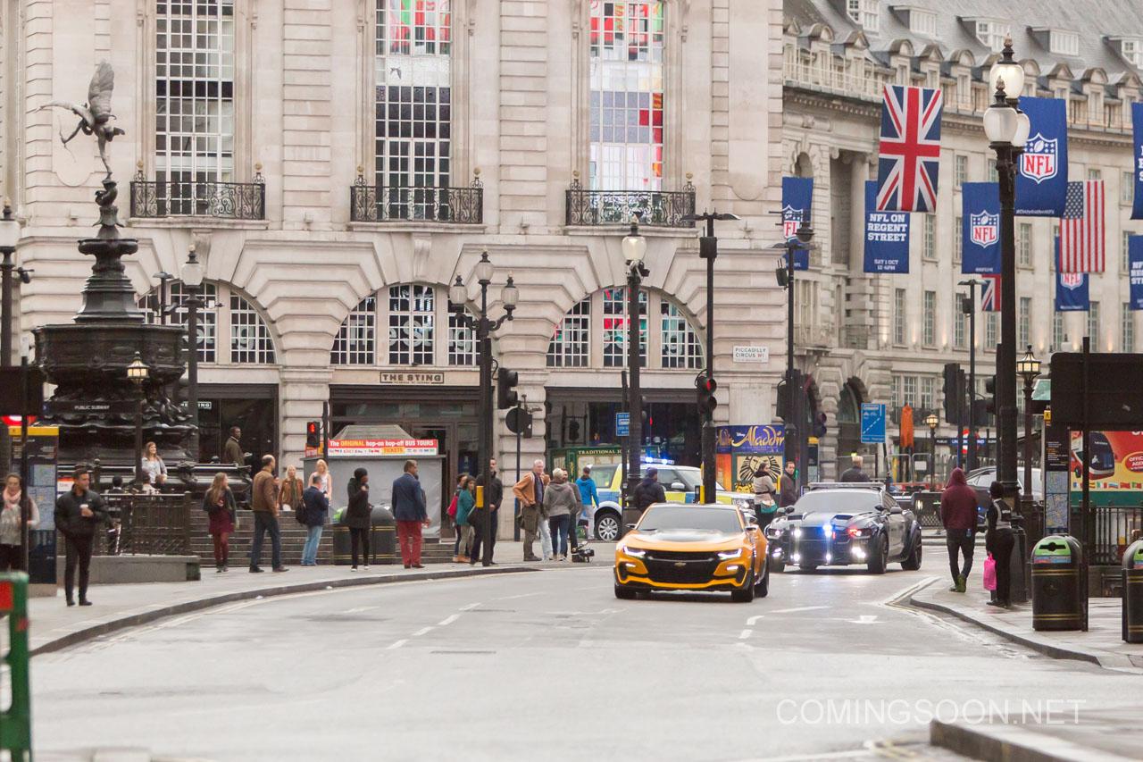 Transformers: The Last Knight - Una foto dal set di Londra