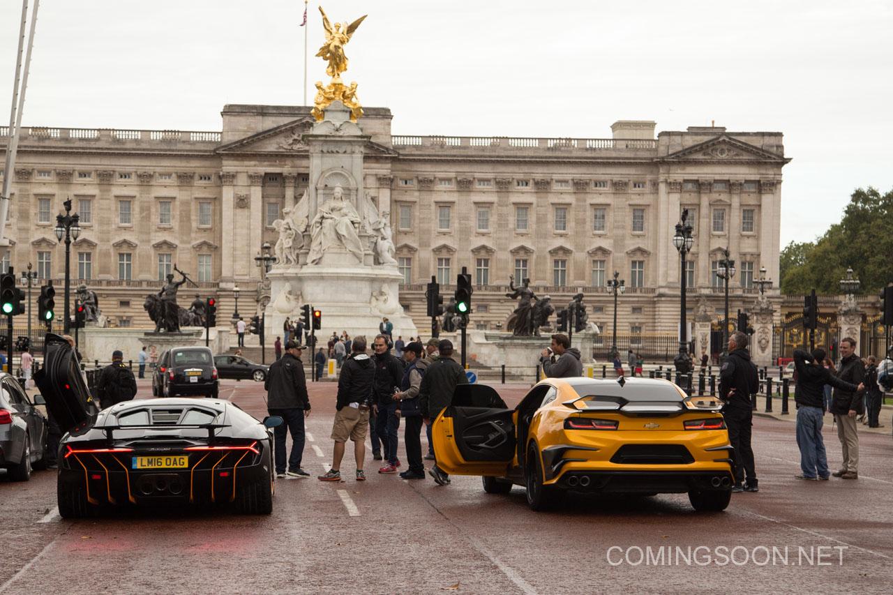Transformers: The Last Knight - Auto sul set di Londra