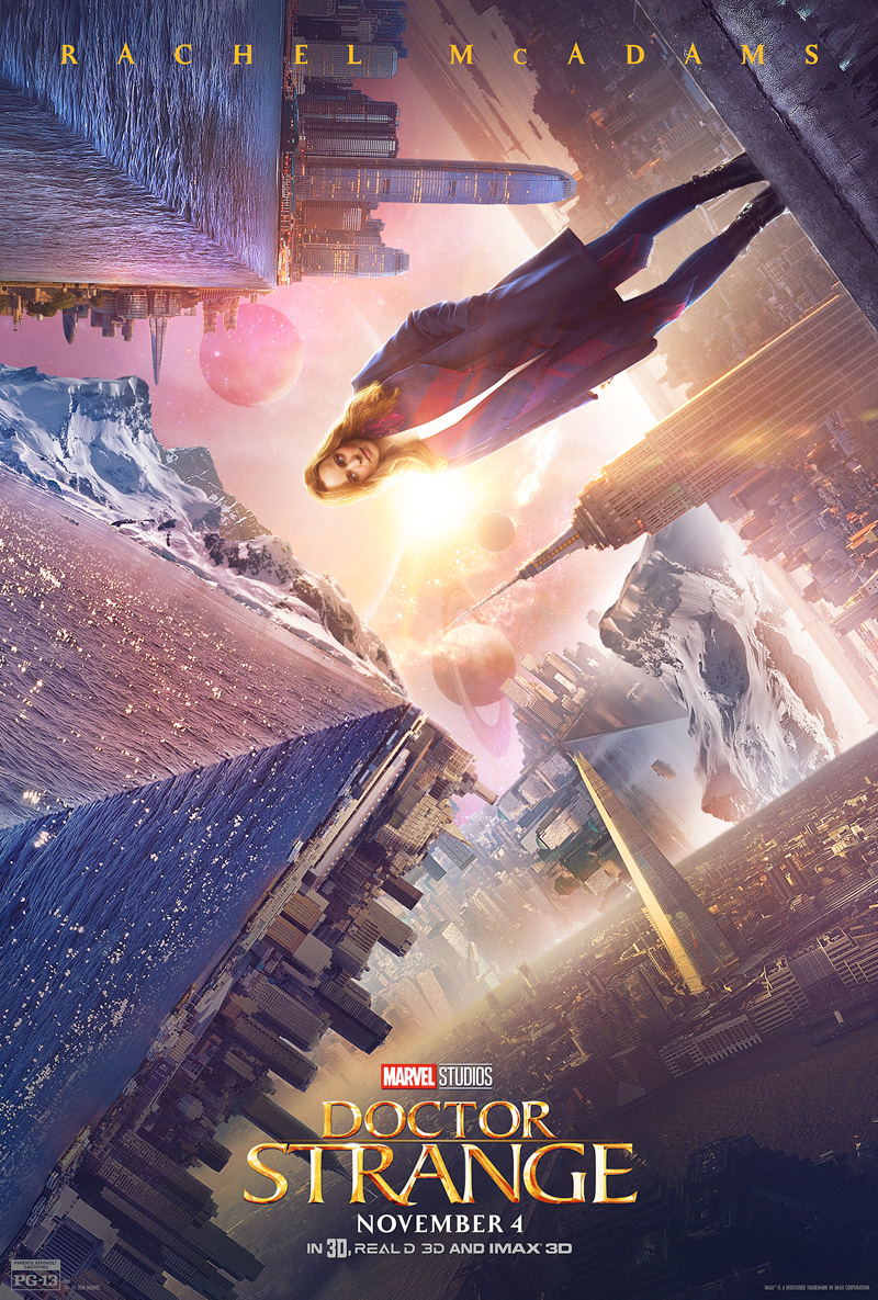 Doctor Strange: il character poster di Rachel McAdams